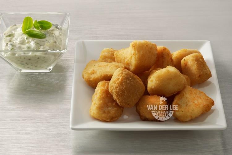 Crunchy battered Cod Nuggets (Kibbeling)