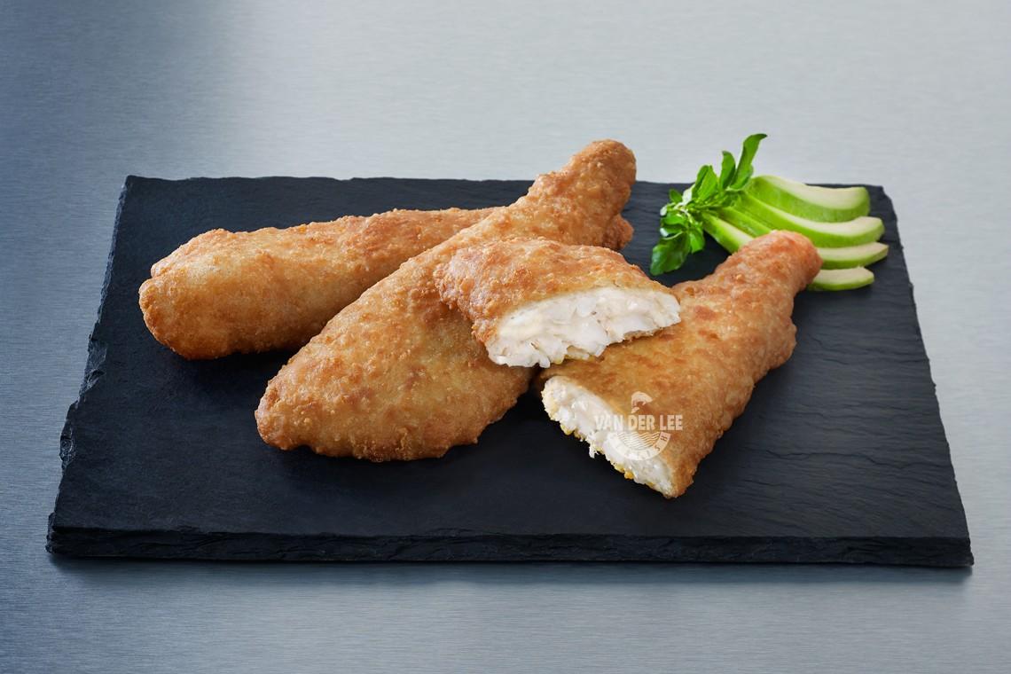 Crunchy cod fillets for Cod fish fillet