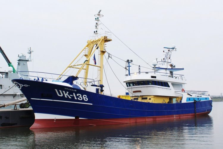 Van der Lee Seafish commissions UK 136 'Drakkar' into service