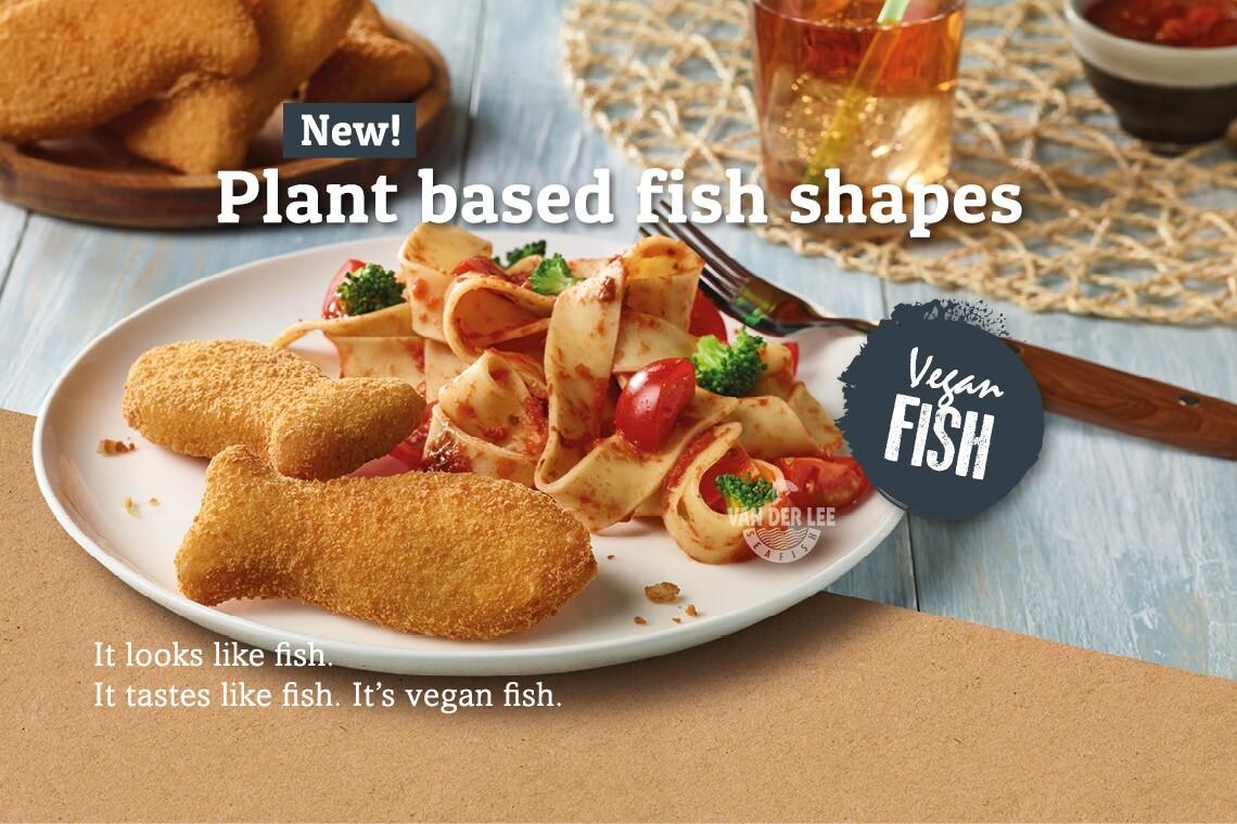 New at Van der Lee Seafish: VEGAN FISH!
